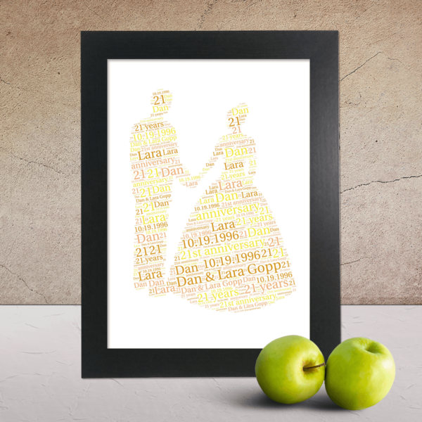 Engagement word art picture