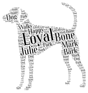 american foxhound personalised gift