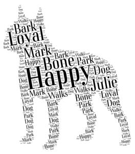 boston terrier personalised gift