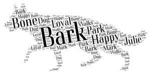 german shepherd dog word art