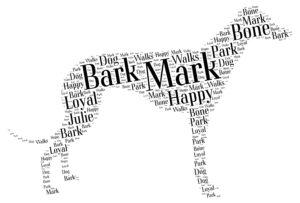 greyhound word art
