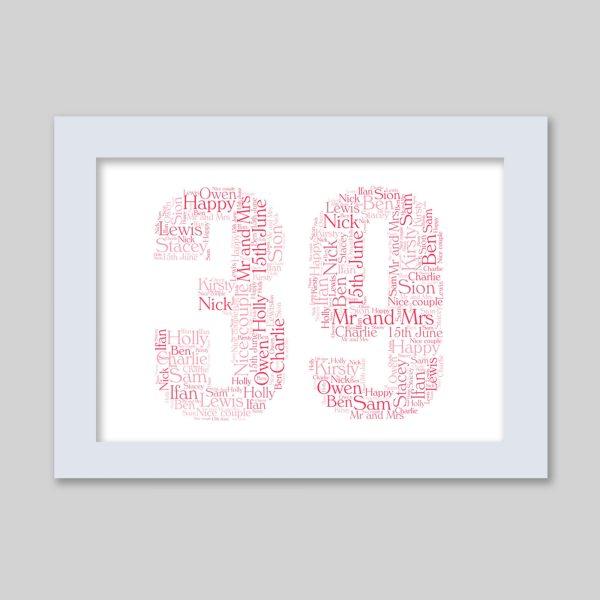 39 of Word Art Prints