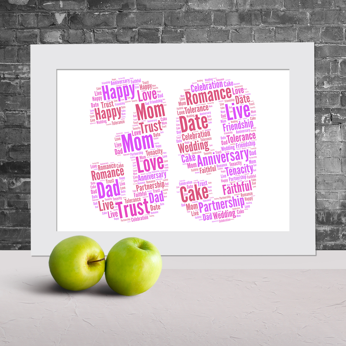 Personalised Ambulance word art picture
