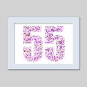 55 of Word Art Prints