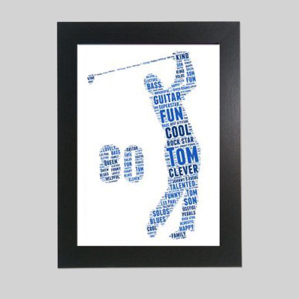 Golf 80th of Word Art Prints