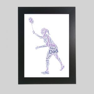 Badminton of Word Art Prints