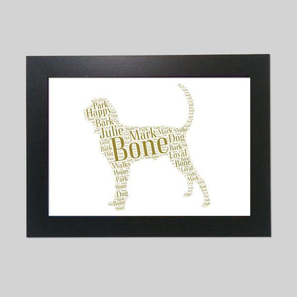 Coonhound of Word Art Prints