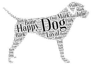 border terrier word art