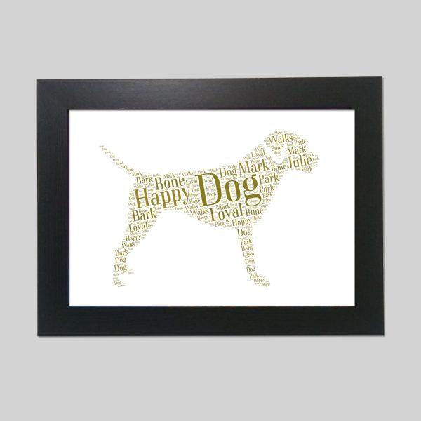 Border Terrier of Word Art Prints