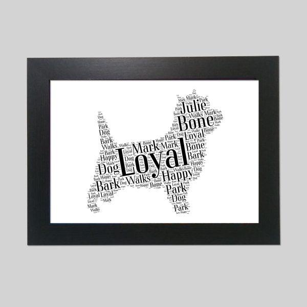 Cairn Terrier of Word Art Prints