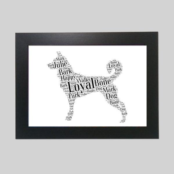 Canaan Dog of Word Art Prints
