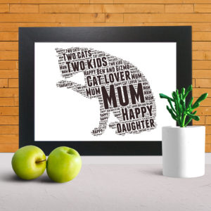 Create your own word art canvas