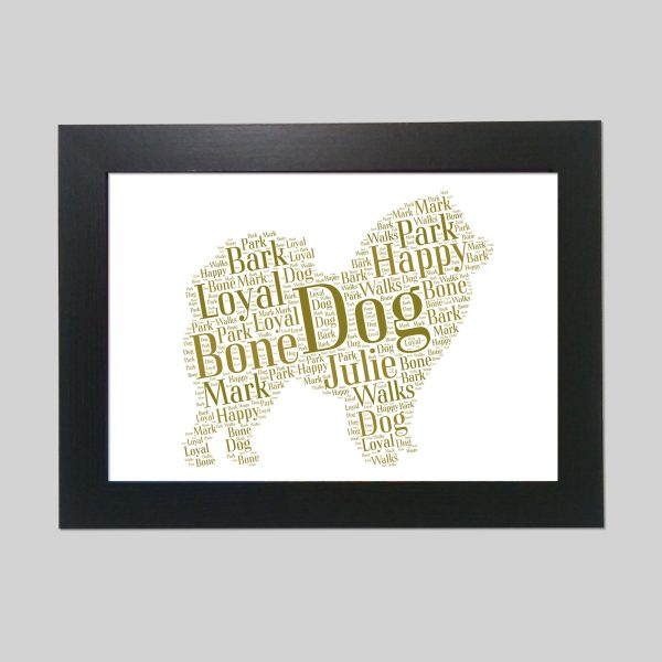 Chow Chow of Word Art Prints