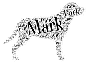 greater swiss mountain dog word art