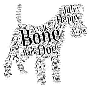 lakeland terrier word art