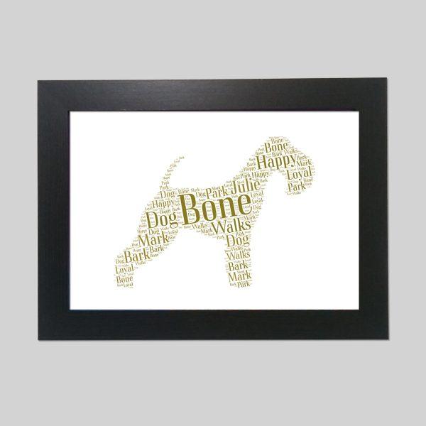 Lakeland Terrier of Word Art Prints