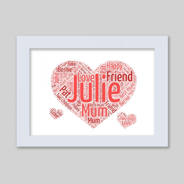 Love of Word Art Prints