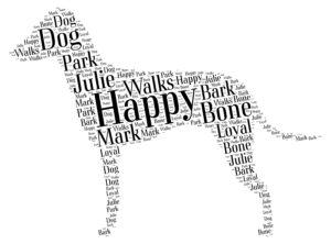 manchester terrier standard word art