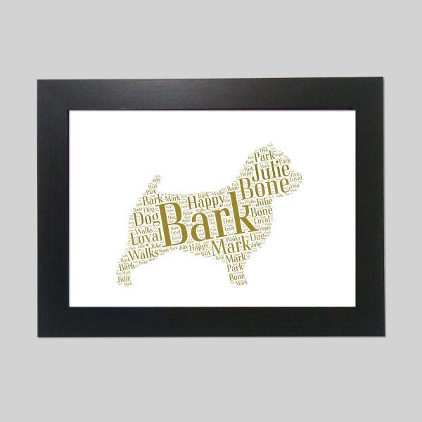 Norwich Terrier of Word Art Prints