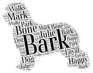 old english sheepdog word art