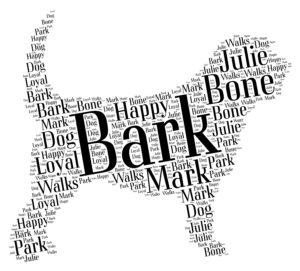 otterhound word art