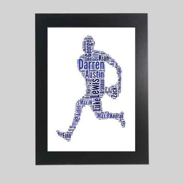 Rugby of Word Art Prints