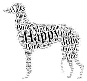 scottish deerhound word art