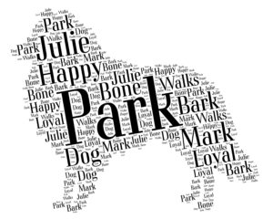 shetland sheepdog word art