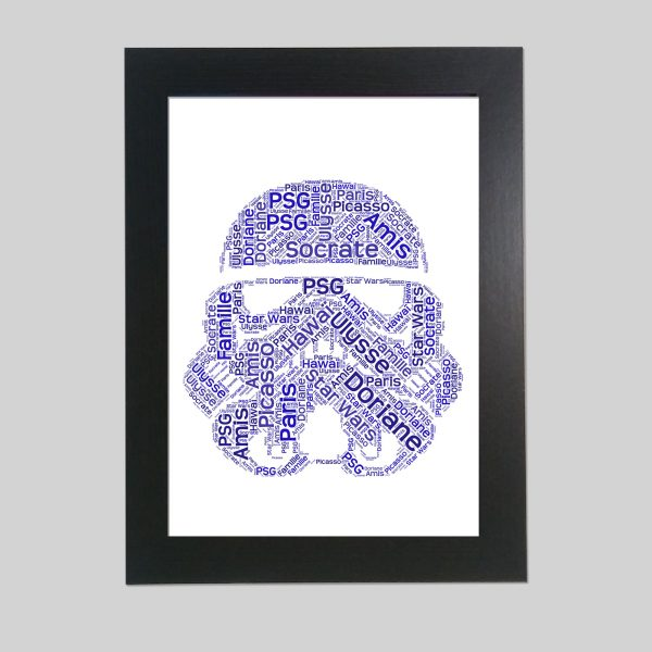 Star Wars of Word Art Prints