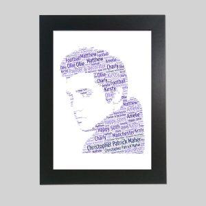 Elvis Presley of Word Art Prints