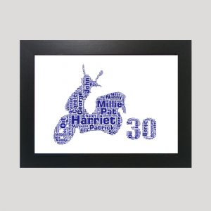 Moped 30 of Word Art Prints