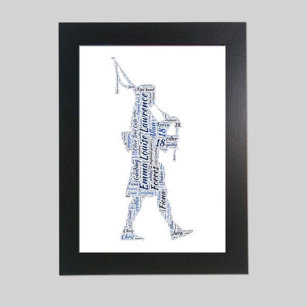 Piper of Word Art Prints