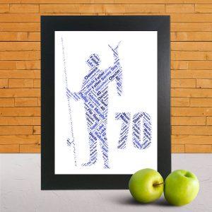 Fisherman Wordart Prints