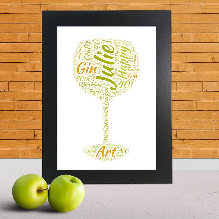 gin word art