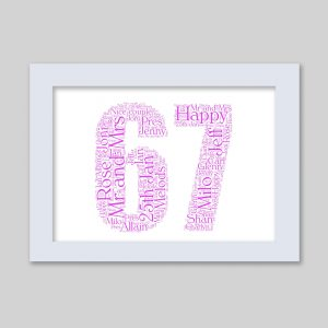 67 of Word Art Prints