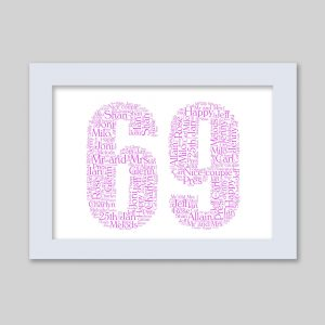 69 of Word Art Prints