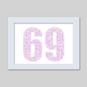 69 of Word Art Prints