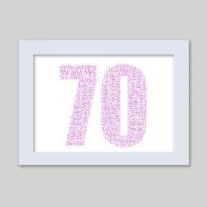 70 of Word Art Prints