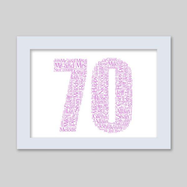 70 of Word Art Prints