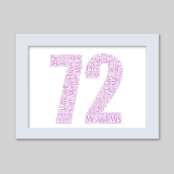 72 of Word Art Prints