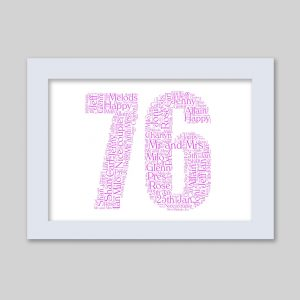76 of Word Art Prints