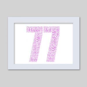 77 of Word Art Prints