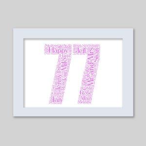 77 of Word Art Prints