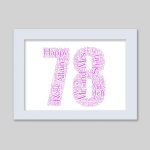 78 of Word Art Prints