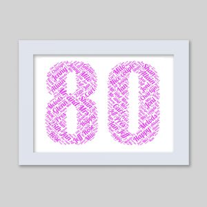 80 of Word Art Prints