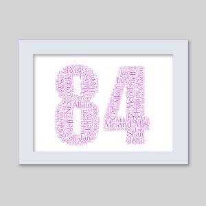 84 of Word Art Prints