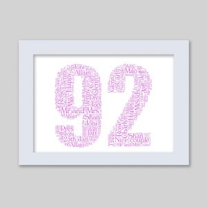 92 of Word Art Prints