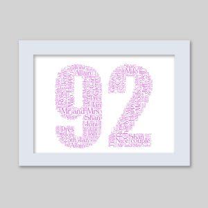 92 of Word Art Prints