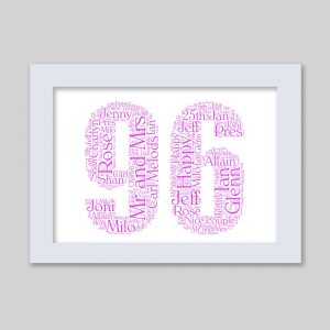 96 of Word Art Prints