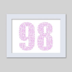 98 of Word Art Prints